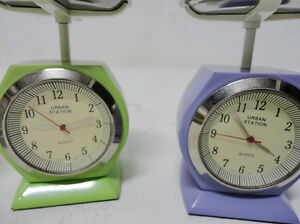 Urban Station Solid Steel Clocks -Paperweight Artzy Scale,TV Kitchener / Waterloo Kitchener Area image 2