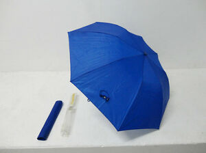 "36"" Premium Automatic Blue Umbrella and Carry Case -Brand New"