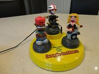 Collectible Rare Boogie Bobbers Triple Head Bopper Animated Toy
