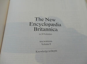 4 Encyclopedia Britannica Books In Great Shape $4.00/All Kitchener / Waterloo Kitchener Area image 7