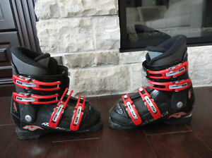 "Nordica Junior GP TJ Ski Boots -Great Shape (Fits 8"" foot or so)"