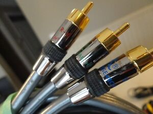 Assortment of quality Home Audio Cables -Component & RCA Kitchener / Waterloo Kitchener Area image 4