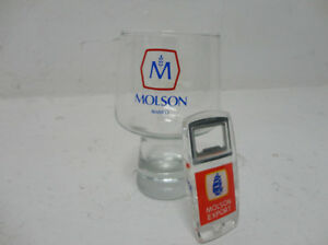 Brewerania Vintage Molson Export Opener and Tulip Style Glass Kitchener / Waterloo Kitchener Area image 3