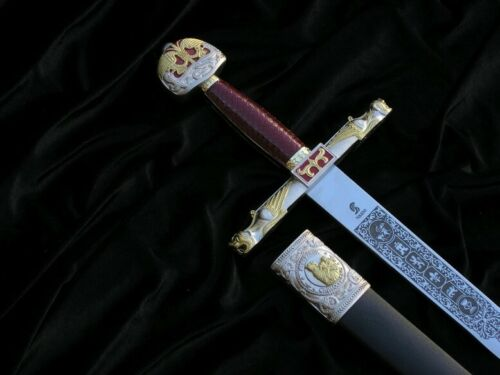 COPY OF THE SWORD CARLO MAGNO WITH SCABBARD 4209/V