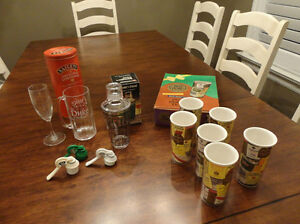 Some Great Barware and Dual Walled Tumblers & More!!! All $11.50