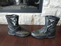 """Prexport waterproof Ladies Motorcycle Boots (10"""" inside length)"""