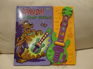 Scooby Doo Ghost Guitar Play A Song Storybook - Works Great Kitchener / Waterloo Kitchener Area image 2