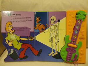 Scooby Doo Ghost Guitar Play A Song Storybook - Works Great Kitchener / Waterloo Kitchener Area image 5