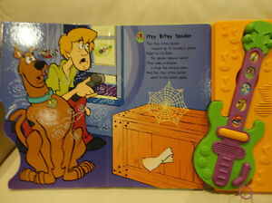 Scooby Doo Ghost Guitar Play A Song Storybook - Works Great Kitchener / Waterloo Kitchener Area image 4