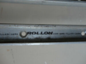 "4pcs. 67"" Long Rollon TLL43-1694 Compact Rail T-Shaped Raceway Kitchener / Waterloo Kitchener Area image 2"