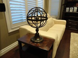 Beautiful Metal Double Axis Armillary Sphere Home Decor Piece