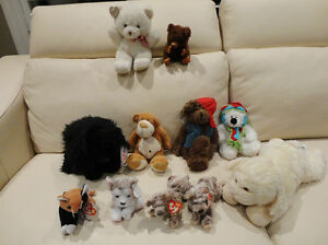 7 Pc. Stuffed Toy Collection -Super Clean  $5.50/for all