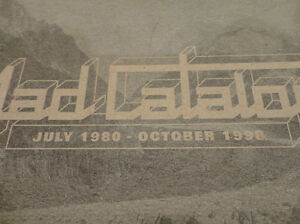 Rare & Collectible -4AD Music Catalog from 1980-1998 w/ Decal Kitchener / Waterloo Kitchener Area image 7