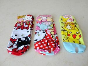 Hello Kitty, My Melody & Pokemon Socks brought here from Japan