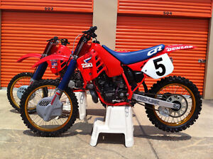 WANTED 1987 CR 250cc