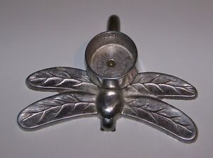 Cast Aluminum Dragonfly Tea Light Holder