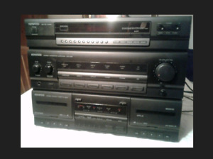 KENWOOD STEREO RECEIVER with REMOTE