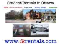 Off Campus STUDENT HOMES available from May CARLETON UNIVERSITY