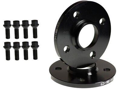 12mm Wheel Spacers 4x100 56.1 cb PAIR + BOLTS MINI COOPER S 2007-2013 + (12 Mm Wheel Bolts)