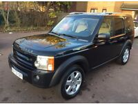 LHD LEFT HAND DRIVE LAND ROVER DISCOVERY 3 HSE PREMIUM 2006 FRIDGE LEATHER SAT NAV XENON FULLY LOADE