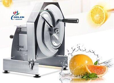 New Manual Fruit Vegetable Slicer Cutting Machine Onions Potato Orange Tomato