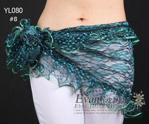 New-Belly-Dance-Costume-Hip-Scarf-Belt