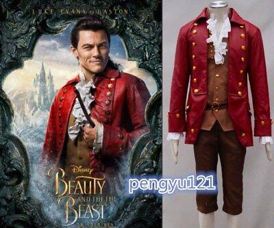 Hottest Disney Gaston Beauty and the Beast Belle Cosplay costume - Gaston Disney Costume