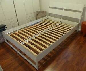 TRYSIL double bed frame with Luröy slats and free matress Annerley Brisbane South West Preview