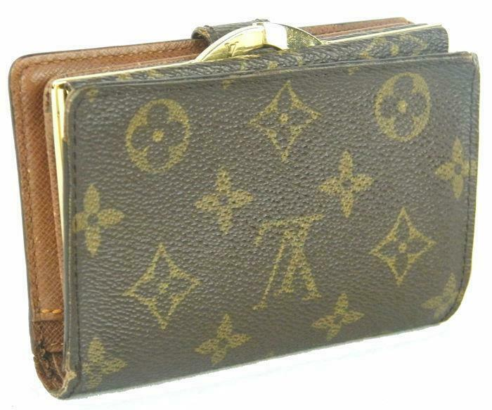 d4277af2373d5 Louis Vuitton - Monogram French Kiss Lock Medium Portemonnee ...