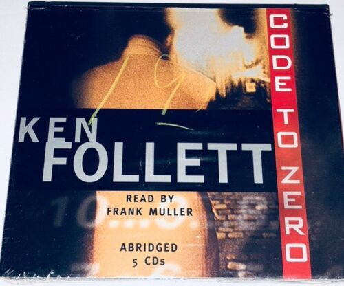 Code To Zero By Ken Follett 2000, CD, Abridged 5 CD 2C - $9.19