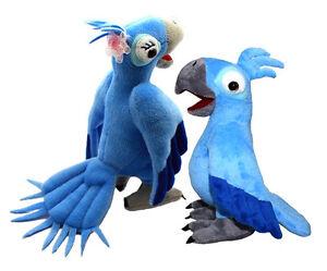 The Moive *Rio* Blu and Jewel Bird Set Plush Toy 8.5