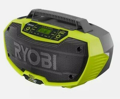 RYOBI One+ P746 18v Stereo Radio Dual Power Bluetooth - (Radio Only)