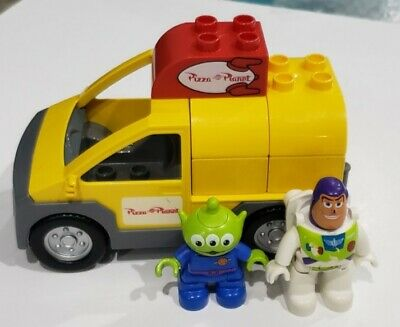 LEGO Duplo : Toy Story : Pizza Planet Truck Minifigures