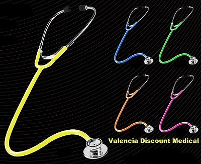 Prestige Medical Dualhead Stethoscope  5 New Neon Colors Dual Head Neon