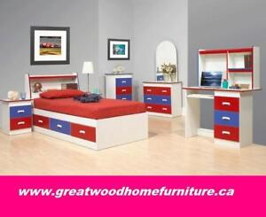 SINGLE SIZE STORAGE BED FOR KIDS...$299..CHOICE OF COLOR