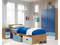 boys single bed with storage