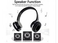 SODO MH2 NFC 2in1 Twist-out Speaker Bluetooth Headset With FM Radio Wireless