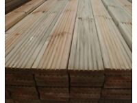 New Timber Decking premium boards treated wood deliveries available