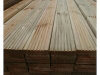 Quality Treated decking boards