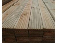 Treated timber Decking boards quality 4.2m x32mm x125mm