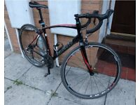 offers!! Road bike specialized with shimano 105 kit and accesories