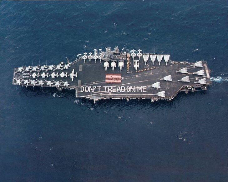 Don/'t Tread On Me Screw Back Concho US Marines Leathercraft Accessory USMC Gift