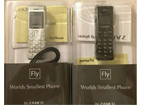 Zanco fly mobile phone voice changer worlds smallest mobile phone beat the boss 100% plastic
