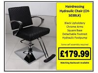 Hairdressing Hydraulic Styling Chair CH-S03BLK £179.99