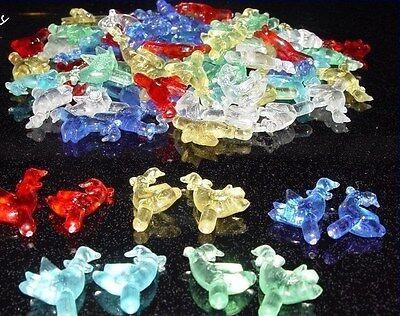 100 Ceramic Christmas tree 6 colors geese lights plastic twist flame pegs stars Ceramic Christmas Tree Plastic Lights