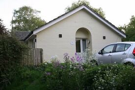 Fully furnished one bedroom house with own parking space and garden