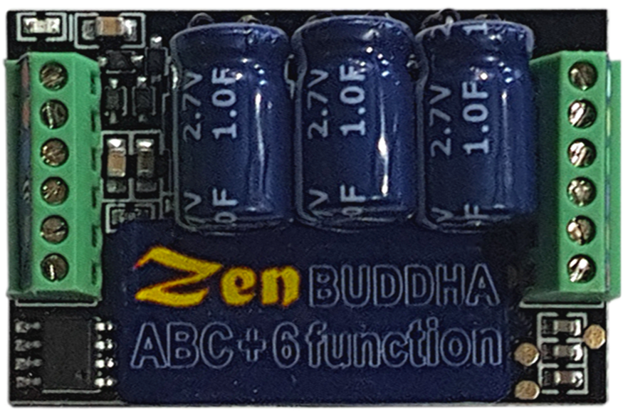 DCC Concepts Zen Black DCD-ZN218.6 1.1amp DCC Decoder 21 Pin Direct 8 Pin Lead