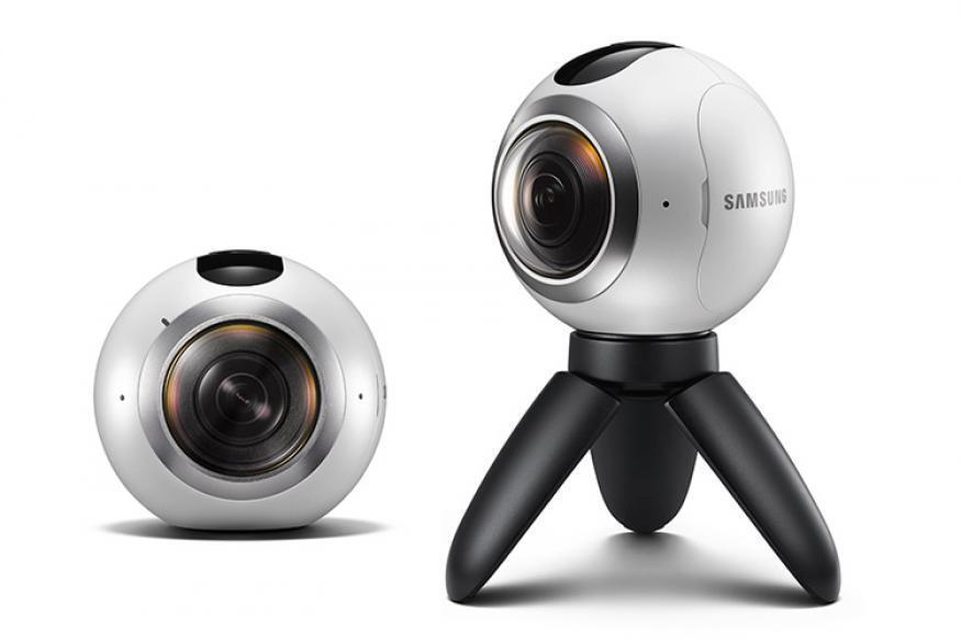 Samsung Gear 360 Degree Camera High Resolution VR Camcorder SM-C200