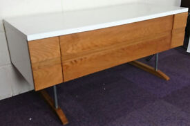 Designer TV Stand Cabinet Alphason Conran CNL/AV1200 Natural Loft RRP- £429.00