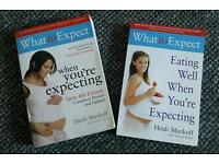 What to Expect When You're Expecting & Eating Well When You're Expecting